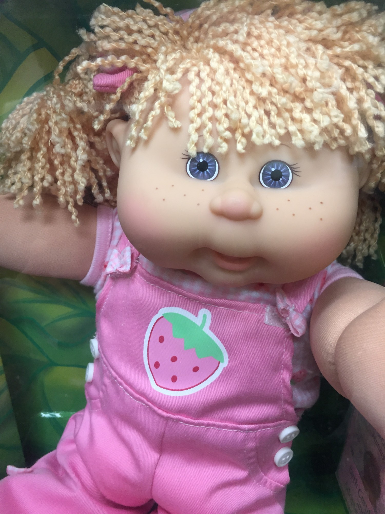 Cabbage Patch Kid Girl Doll Blonde Hair Caucasian
